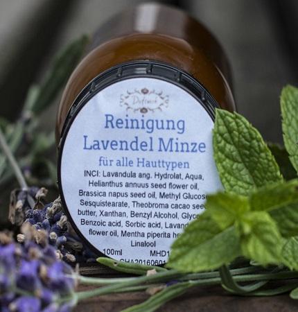 Lavendel Minze Reinigung
